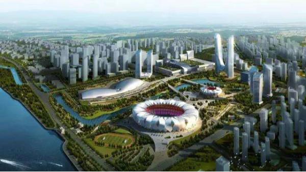 杭州奥体中心游泳馆建设情况