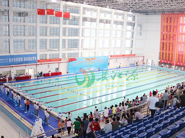祝贺!南宁长江源池水净化厂家与东兴体育中心合作