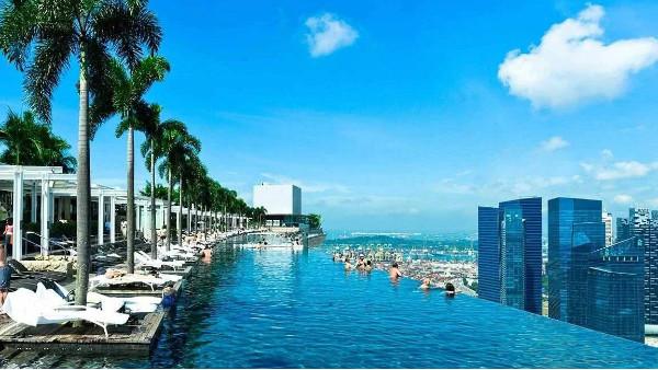 重庆将建世界最高的空中游泳池