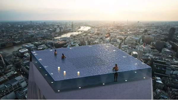 全球各种脑洞大开的泳池,他们独具一格,颠覆传统!