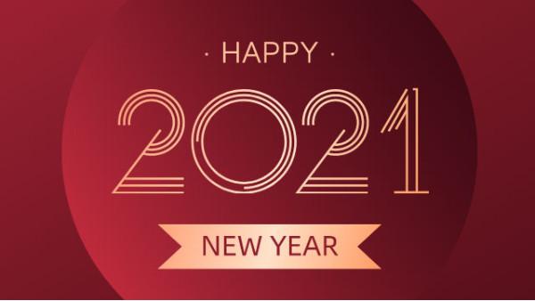 2021,元旦快乐!